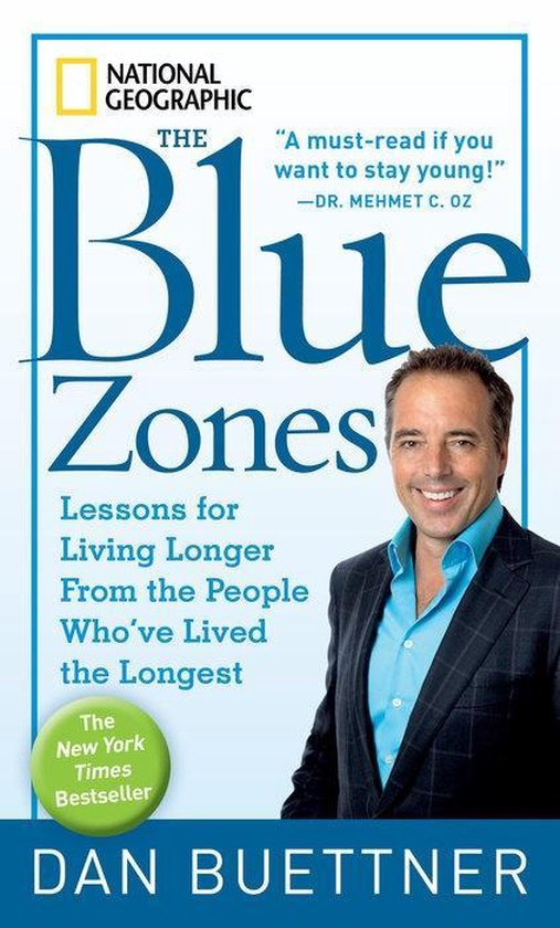 Boek cover The Blue Zones van Dan Buettner (Paperback)