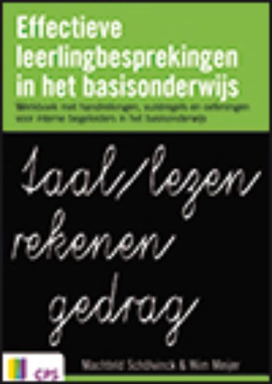 Effectieve leerlingbesprekingen in het basisonderwijs - Wim Meyer |