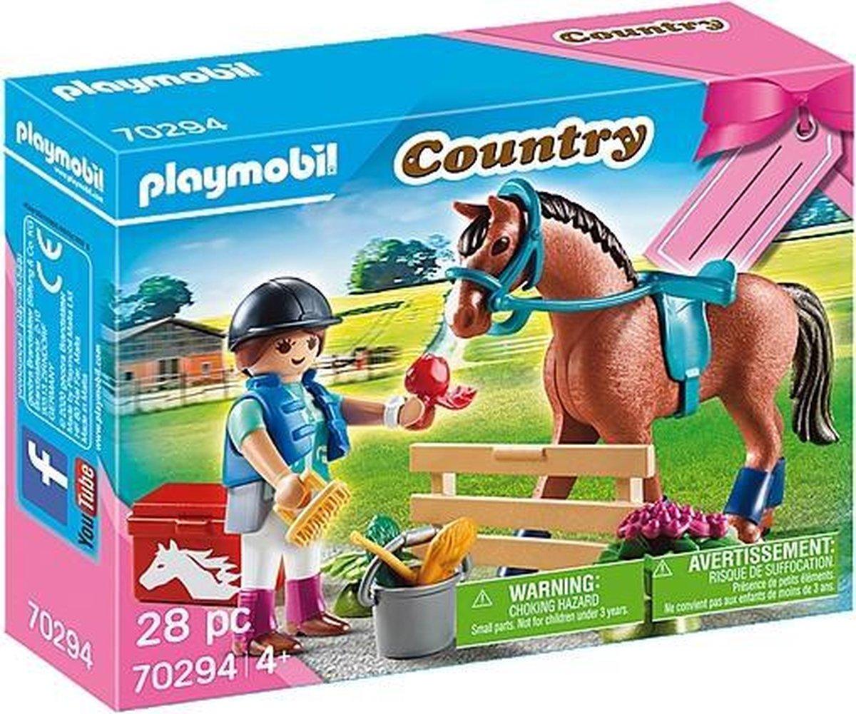 "PLAYMOBIL Cadeauset ""Paarden"" - 70294"