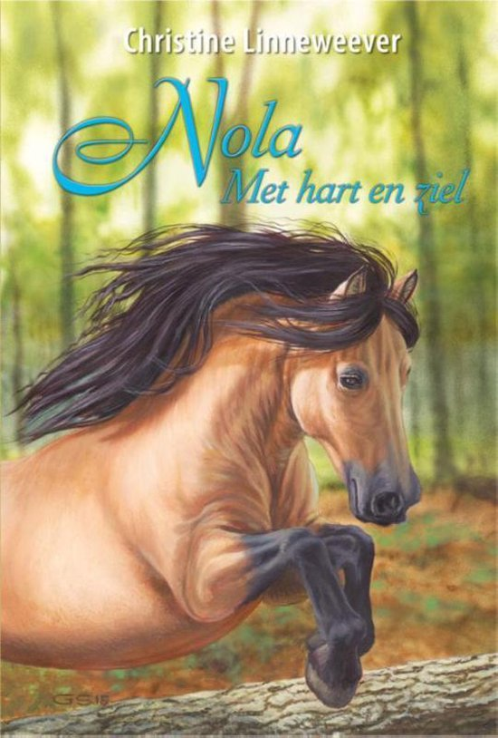 Gouden Paarden 8 - Nola met hart en ziel - Christine Linneweever |