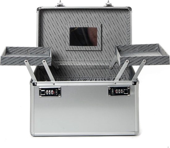 Alumaxx Aluminium Beautycase Zilver 2481 - Alumaxx