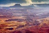 Schilderij - Grand Canyon  , Multikleur , 3 maten , Wanddecoratie