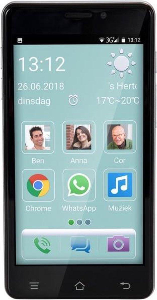 Fysic F101 Eenvoudige senioren smartphone 5 – Smartphone voor mensen met behoefte aan eenvoud