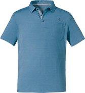 Schöffel Outdoorshirt Kochel2 Heren - Blauw - Maat XL