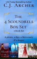 The 4 Scoundrels Box Set: 4 Book Set