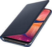 Samsung flip wallet - Samsung Galaxy A20e -  blauw