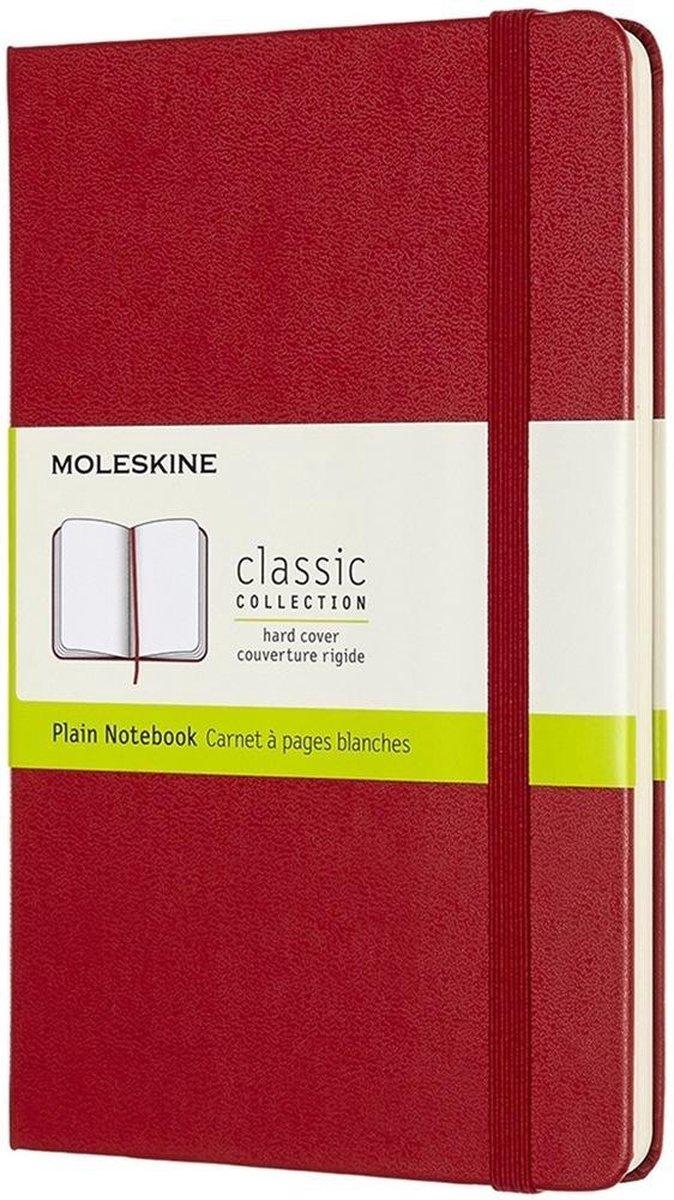 Moleskine Medium Plain Hardcover Notebook