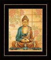 Lanarte borduurpakket Boeddha pn-0008040 borduren