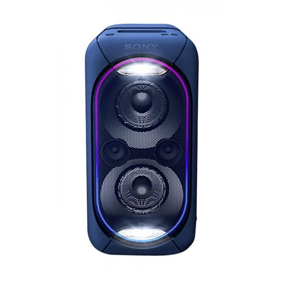 Sony GTK-XB60 - Draagbare Party Speaker - Blauw