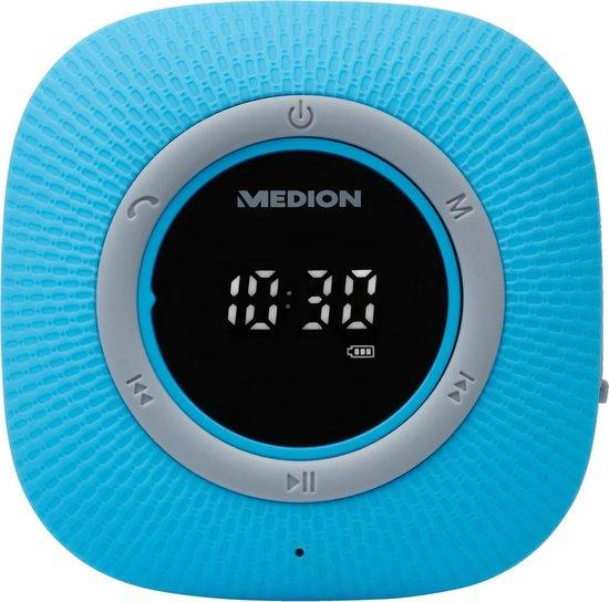 MEDION LIFE P66096 Bluetooth Douche Radio (blauw)