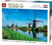 Afbeelding van Puzzel 1000 Stukjes WINDMILLS, KINDERDIJK, NETHERLANDS speelgoed