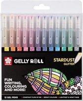 Sakura Gelly Roll 12 gelpennen Stardust - glitter effect