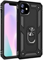 Apple iPhone 11 Case with Vega Ring Stand Cover Black