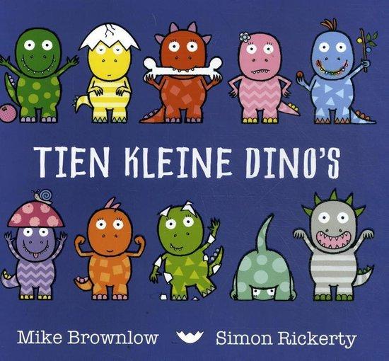 Tien kleine dino's - Mike Browlow |