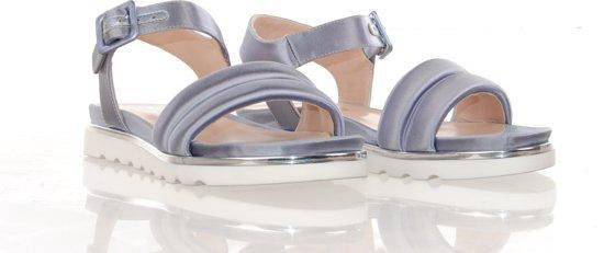 MAURY sandaal grijs satijn KdNgAep8
