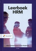 Boek cover Leerboek HRM van Frits Kluijtmans