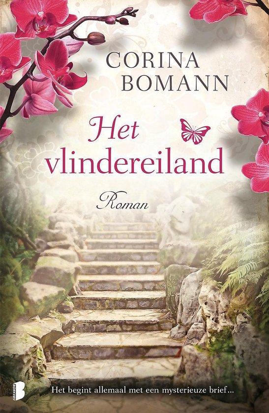 Boek cover Het vlindereiland van Corina Bomann (Paperback)