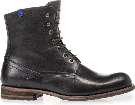 Floris van Bommel Mannen Boots -  10751 - Zwart - Maat 45