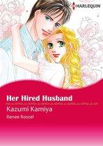 Omslag Her Hired Husband (Harlequin Comics)