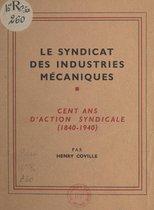 Le syndicat des industries mécaniques
