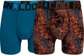 CR7 - Heren - 2-Pack Trunk Boxershorts - Multicolor - 140