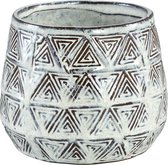 PTMD Pot S Jayda bruin 14x11x14 cm