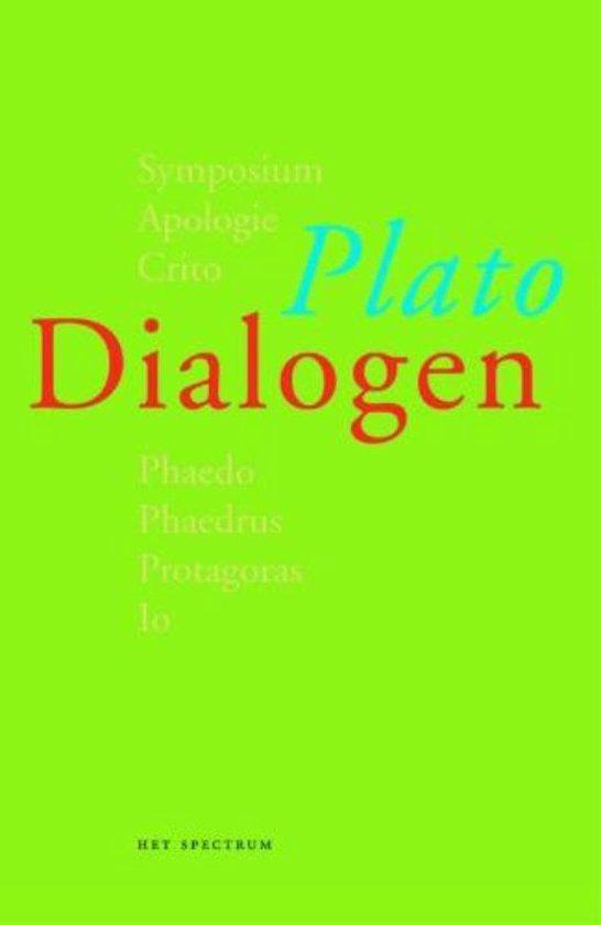Boek cover dialogen van Plato (Paperback)