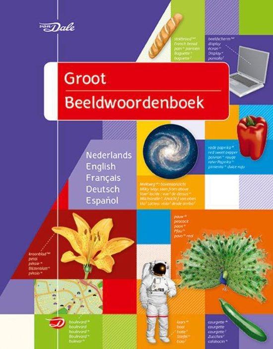 Boek cover Van Dale Groot beeldwoordenboek van Jean-Claude Corbeil (Paperback)