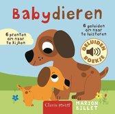 Boek cover Babydieren geluidenboekje van Marion Billet