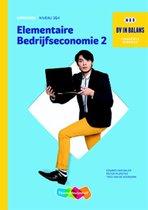 Boek cover BV in balans  - Elementaire bedrijfseconomie niveau 3 en 4 Werkboek dl. 2 van Edward van Balen (Onbekend)