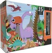 Puzzel Dinosaurussen 35 Stuks