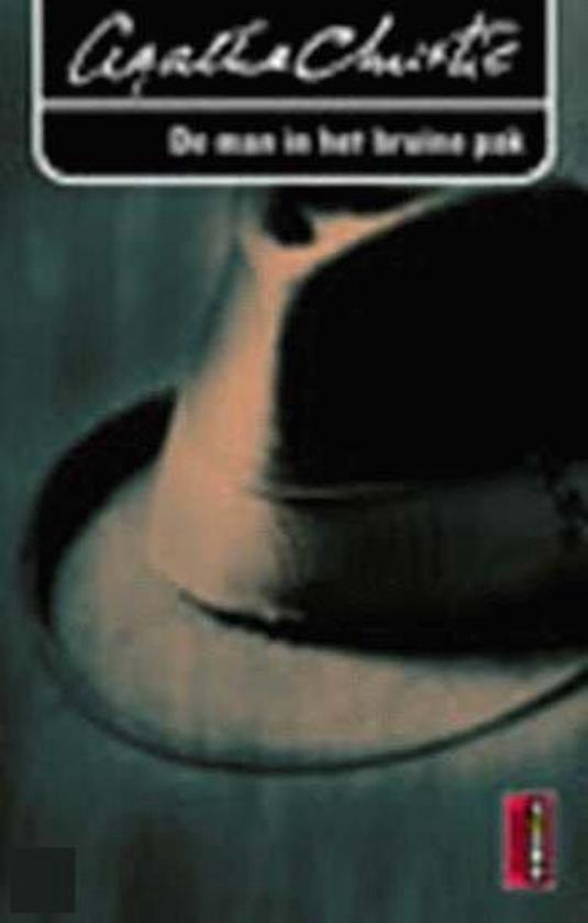 Cover van het boek 'De man in het bruine pak' van Agatha Christie