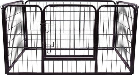 PawHut Afrasting voor huisdieren binnen/buiten 125 x 80 x 70 cm