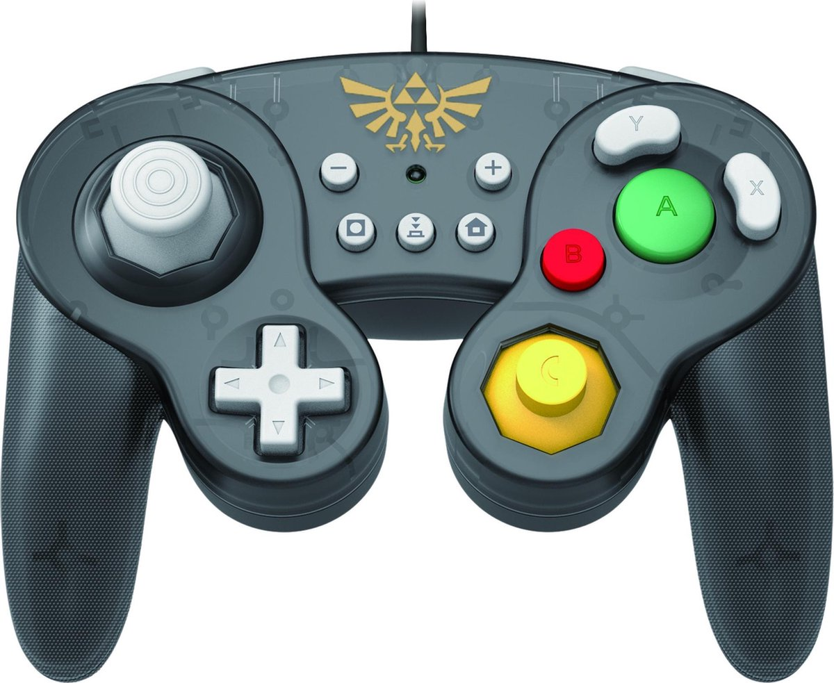 Hori Nintendo Switch Controller - Smash Bros Gamepad - Zelda