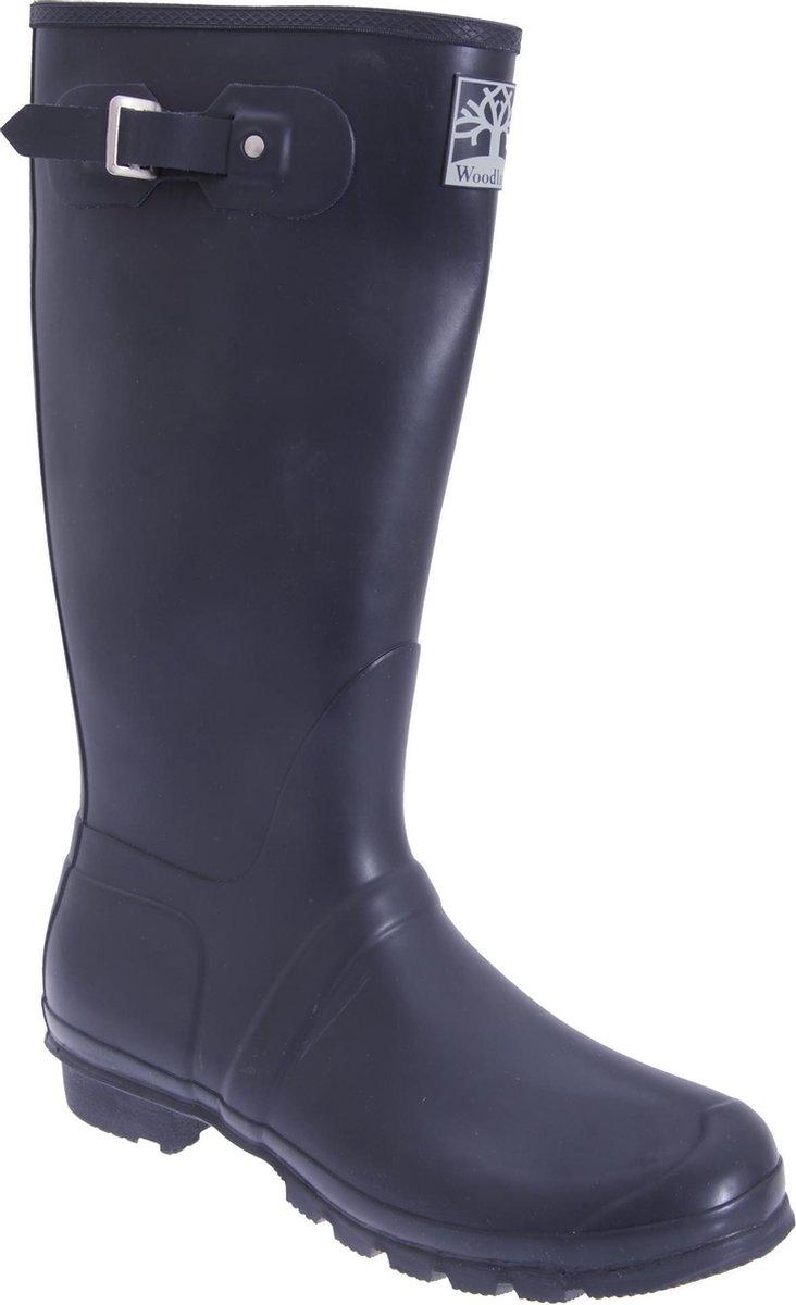Woodland Unisex kwaliteitsband Regular Wellington Boots (Marineblauw)