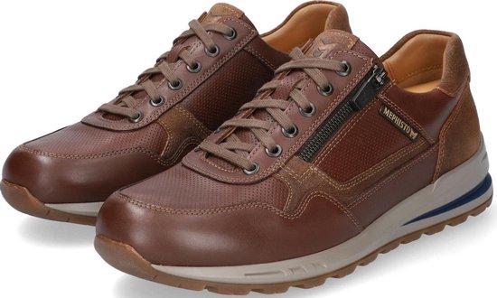 Mephisto Bradley heren sneaker - bruin - maat 42.5
