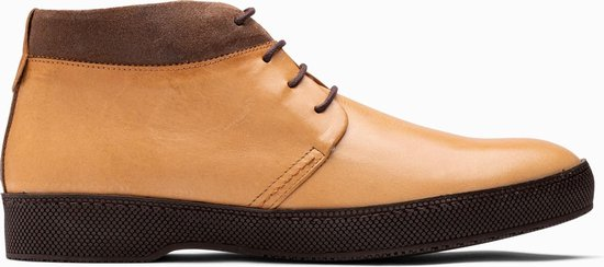 Paulo Bellini Boots Potenza Leather Suede Yellow.
