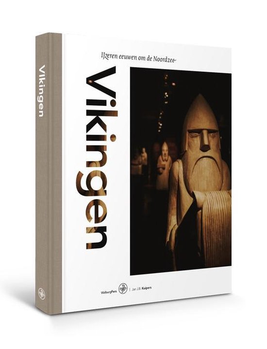 Boek cover Vikingen van Jan J.B. Kuipers (Hardcover)