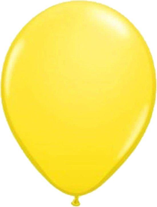 Belbal B105 - Ballonnen geel 40 cm (100 stuks)