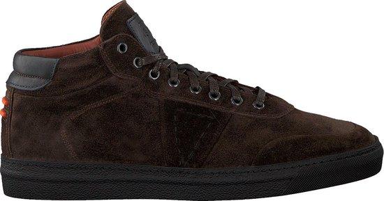 Greve Heren Hoge sneakers Umbria - Bruin - Maat 44