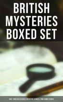 Omslag British Mysteries Boxed Set: 560+ Thriller Classics, Detective Stories & True Crime Stories
