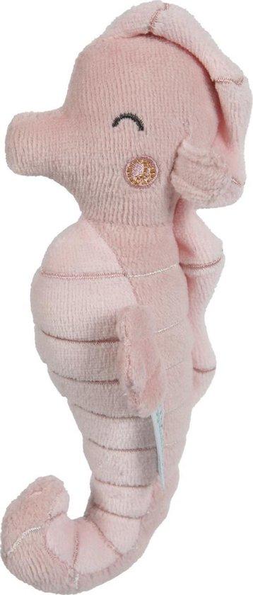 Afbeelding van Little Dutch Rammelaar Zeepaardje - Ocean pink speelgoed
