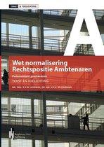 Tekst & Toelichting Wet normalisering rechtspositie ambtenaren