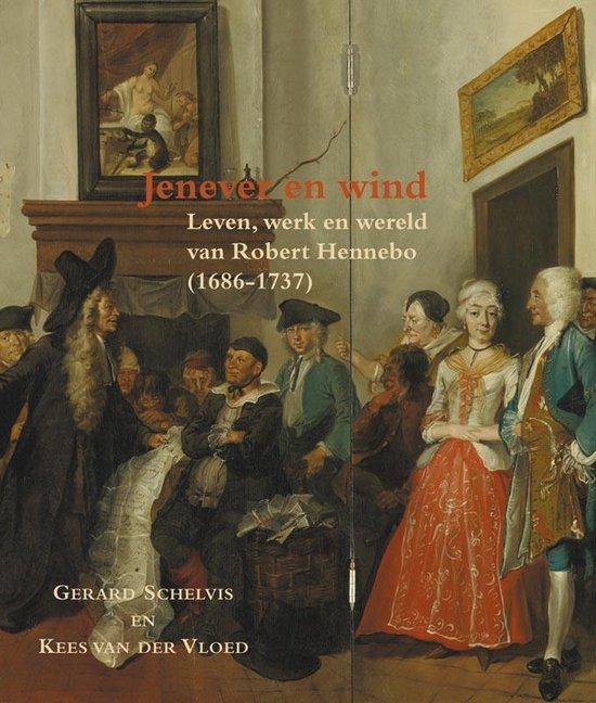 Cover van het boek 'Jenever en wind / druk 1'