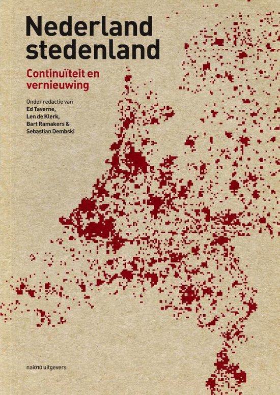 Boek cover Nederland stedenland. Continuïteit en vernieuwing van Koos Bosma (Paperback)