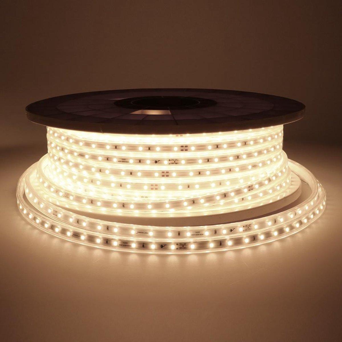 Dimbare LED Strip 50m 4000K 60 LEDs/m IP65 Plug & Play - Flex60 Series
