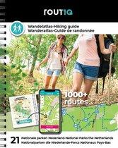 Routiq  -   Routiq Wandelatlas Nederland - Wandelroutes in 21 nationale parken