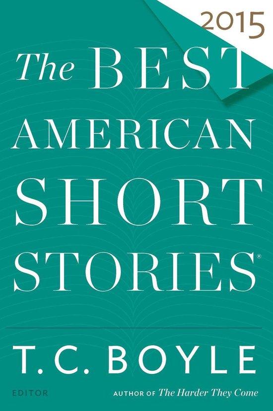 Omslag van The Best American Short Stories 2015
