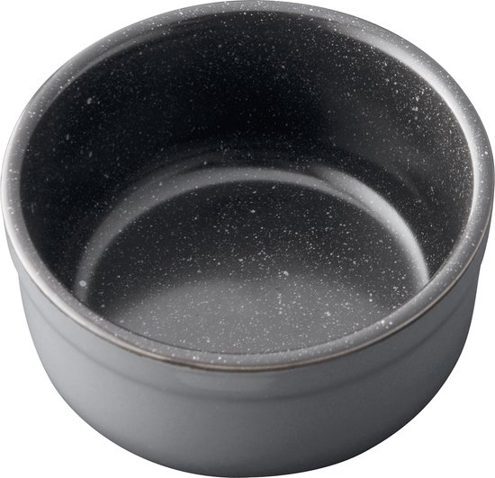 Ramekin set van 4 Laag , 9 cm - Zwart - BergHOFF | Gem