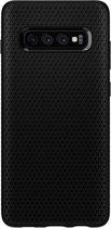 Spigen Liquid Air - voor Samsung Galaxy S10 Plus - Mat zwart